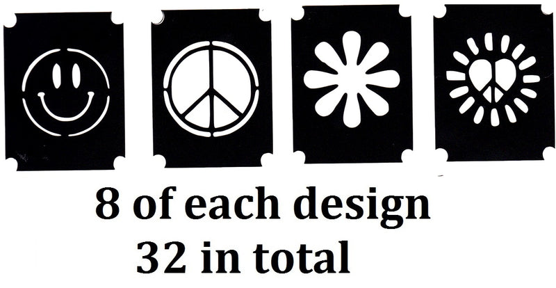 32 Peace Tattoo Stencils