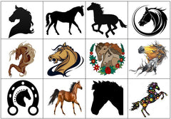 Horse Temporary Tattoos