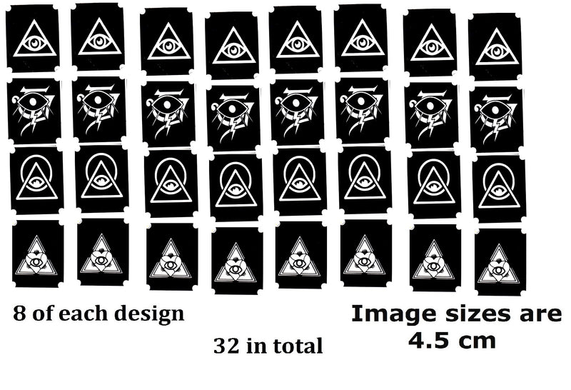 32 Cat Tattoo Stencils c1