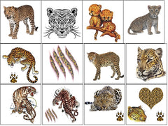 Leopard Temporary Tattoos