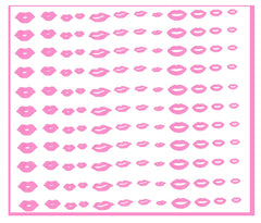 Lips Kisses Nail Stickers