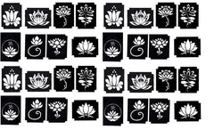 32 Lotus  Tattoo Stencils