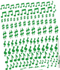 Musical Notes Nail Stickers
