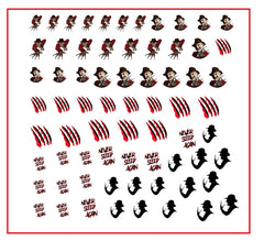 Silent Hill  Nail Art Decals
