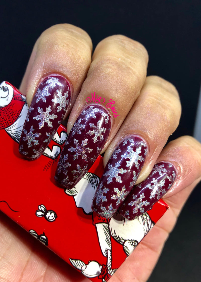 32  Nail Stencils style 141