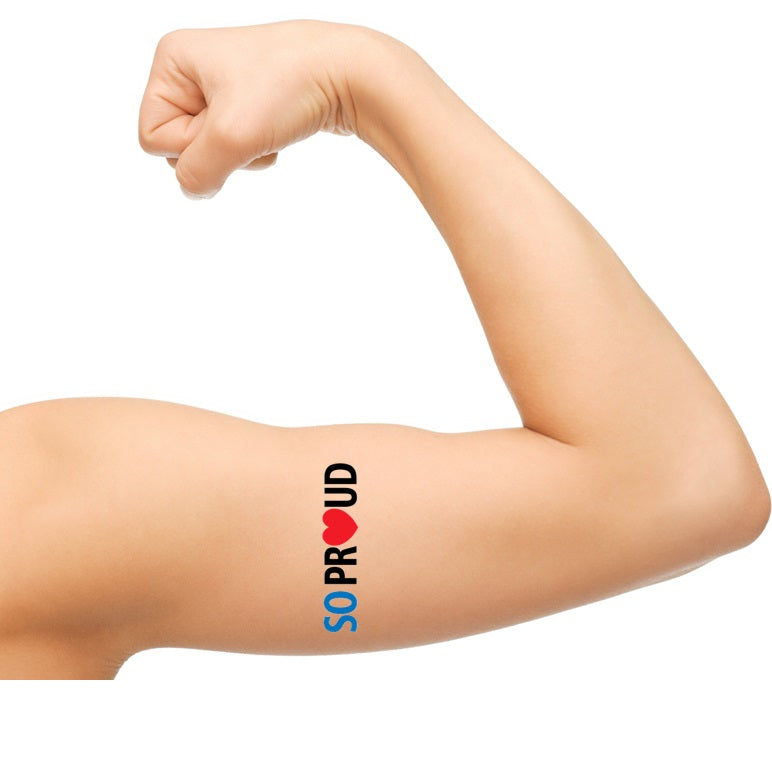 NHS Support Temporary Tattoos