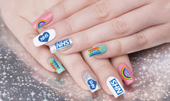 NHS Support Nail Art Decals