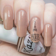 Paris Eiffel Tower Nail Art