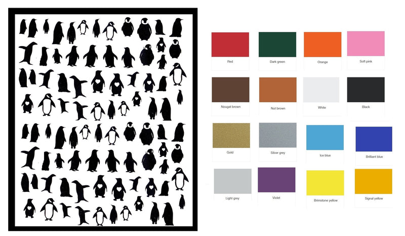 Penguin Nail Stickers