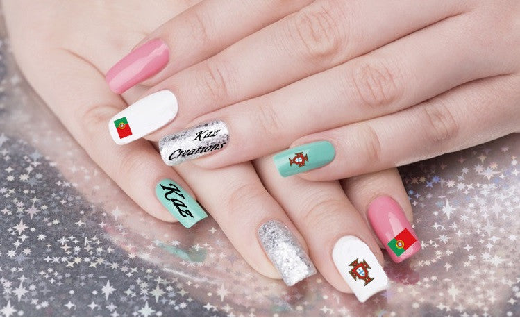 Switzerland Nail Art