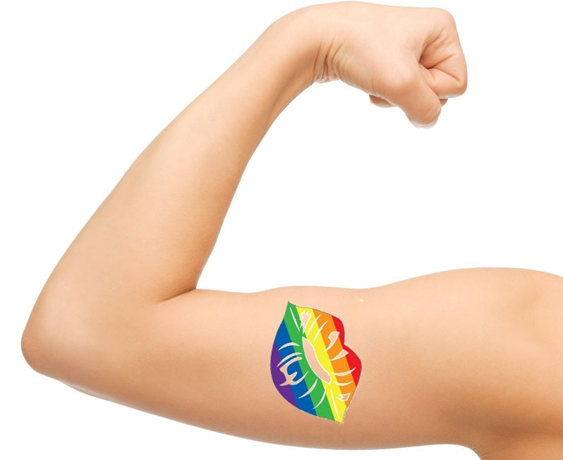 Pride LGBT Temporary Tattoos