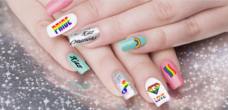 Pride LGBTQ  Nail Art Collection