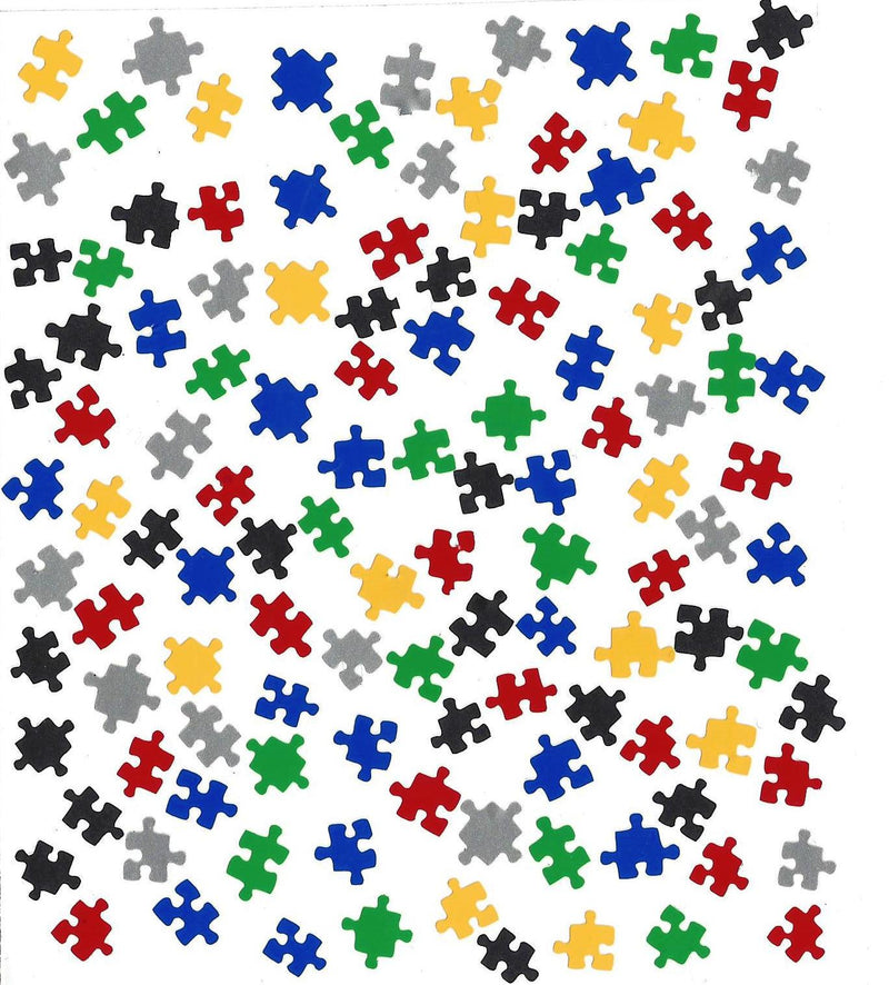 Puzzle Autism  Nail Stickers