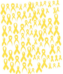 Awareness Ribbon Nail Stickers