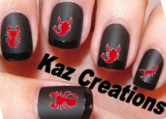 Scorpion Nail Stickers