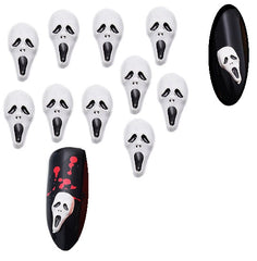 White Scream Ghost ( Pack of 10) Collection 8