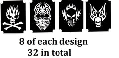 32  Alien Tattoo Stencils