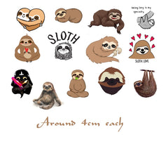 Sloth  Temporary Tattoos c1