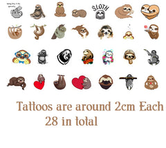 Owl  Temporary Tattoos c2