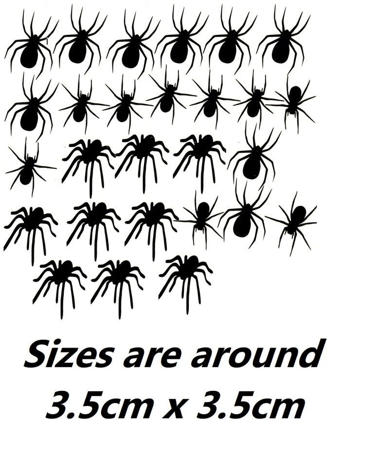 Spider Vinyl Stickers ( Multiple colours to choose from )