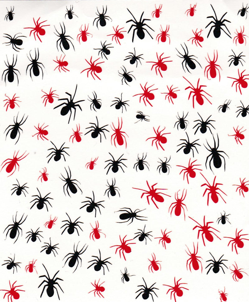Spider Nail Stickers