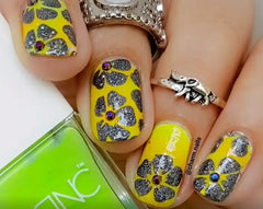 32 Nail Stencils style 104