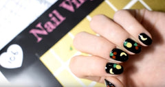 32 Nail Stencils style 106