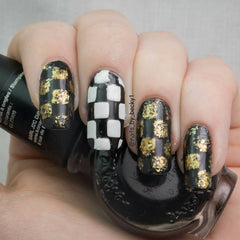 32 Nail Stencils style 107