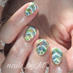 36 Nail Stencils style 112
