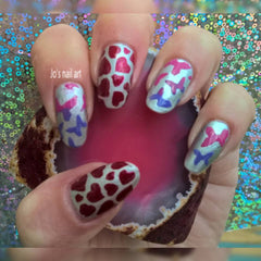 28 Nail Stencils style 117