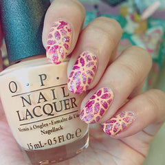 32 Nail Stencils style 118