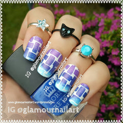 32 Nail Stencils style 125