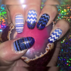 32 Nail Stencils style 129