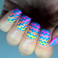 Nail Stencils style 139