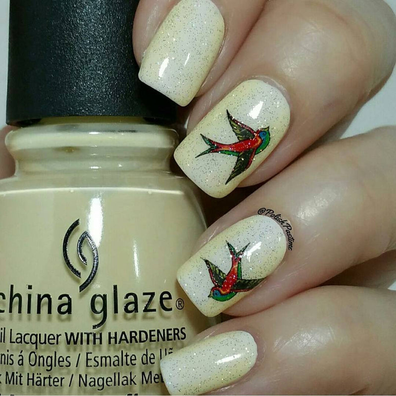 Swallow Nail Art