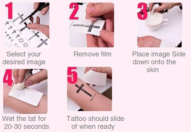 Clover  Temporary Tattoos