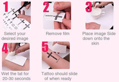 Arm Temporary Tattoos