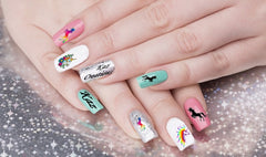 Unicorn Code 2 Nail Art