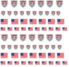 United States USA Nail Art