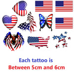 United States Of America Temporary Tattoos