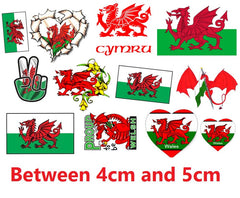 Wales Temporary Tattoos