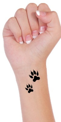White Tiger  Temporary Tattoos