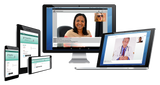 Image showing VTConnect secure telehealth cross platform capabilities