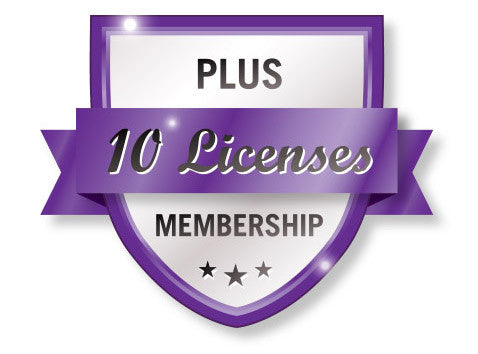 Plus 10 VTConnect License Membership Shield