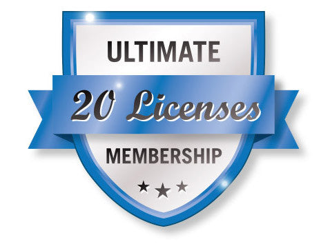 Ultimate 20 VTConnect License Membership Shield