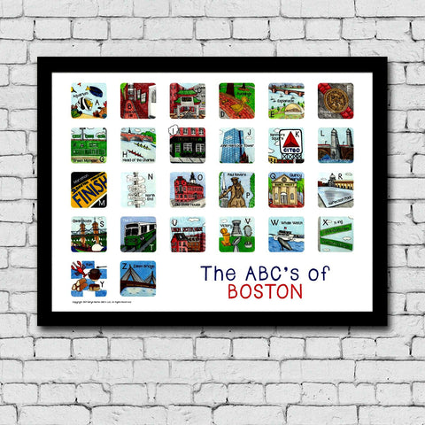 The ABC's of Boston Print