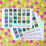 ABC's of Southern Belles-Children's Placemat