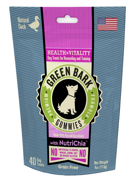 Green Bark Gummies: Health & Vitality with Duck