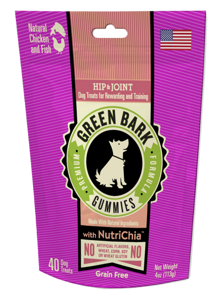 Green Bark Gummies: Hip & Joint with Chicken & Fish