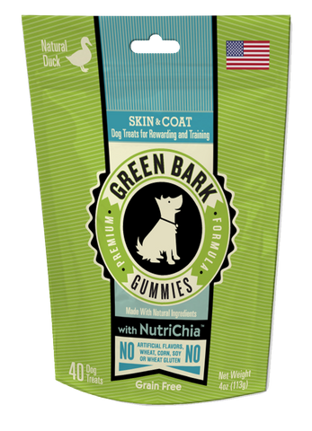 Green Bark Gummies: Skin & Coat with Duck